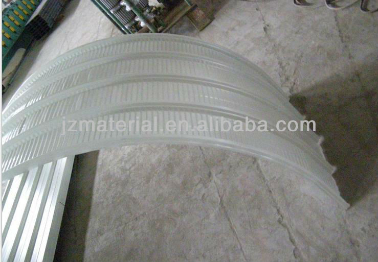 Factory curved galvanized corrugated roofing sheet836mm/900mm 840mm/curved steel sheet