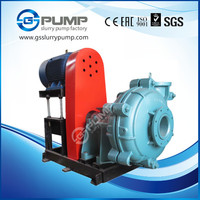 high volume rubber or chrome impeller ash slurry pump widely used in coal washery industry