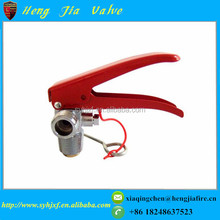 Portable type CO2 fire extinguisher valve for metallurgy