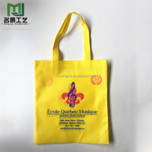 Comfortable new design promotional non-woven handled shopping bag