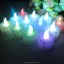 Battery Operated Led Tea Lights Flashing Wireless Christmas Led Candles