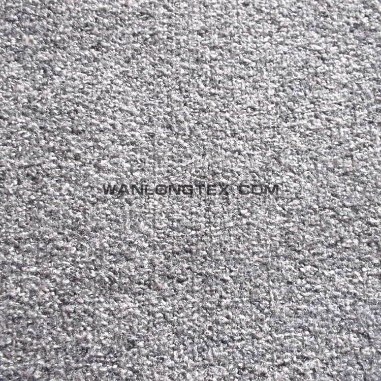 100%polyester faux wool fabric for sofa cover