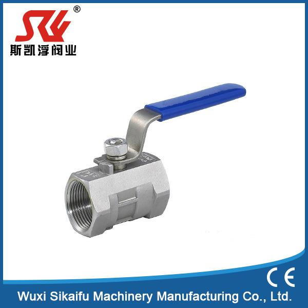 Brand new type one piece high quality water ball valves with low price