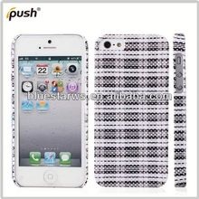 In stock with cheap price hard pc case for iphone5 pc cover for iphone 5 custom made phone cases