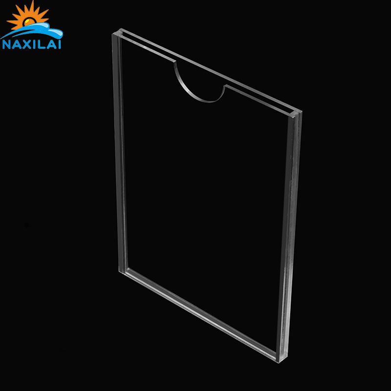 NAXILAI Best Quality Advertising <strong>Acrylic</strong> Slot A4 Card Slot <strong>Acrylic</strong> A4 Transparent Plexiglass Box for <strong>Acrylic</strong> a4 File Insert Tray