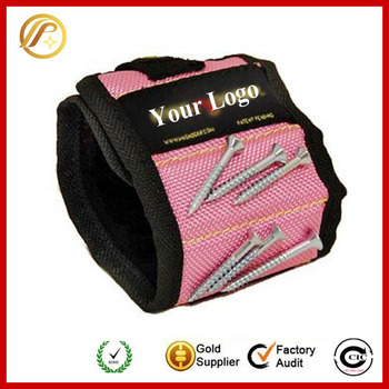 Hot Products Super Strong Magnetic Pick Up Tool Wristband Magnet Wrist Band