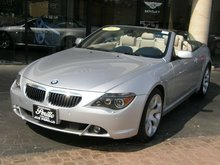2007 BMW 6 SERIES 650i Convertible Sport w/ Navigation