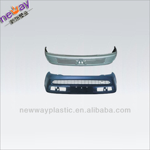 Injection molding car bumper
