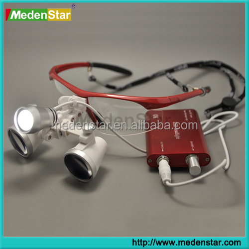 dental loupes with LED headlight / magnifying glasses dental and surgical loupes YYJD01