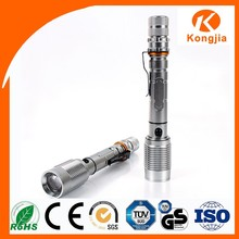 800M Emergency Rechargeable Aluminum Zoom Lantern Halogen Bulb Torch Light
