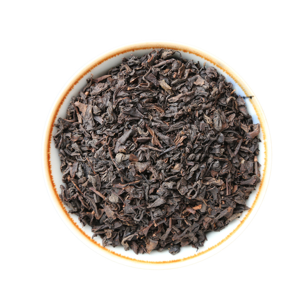 tin ceylon black tea dust