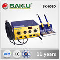 Baku Hot Selling Good Quality Outdoor Travel Design Hot Air Gun Electric Rework Station