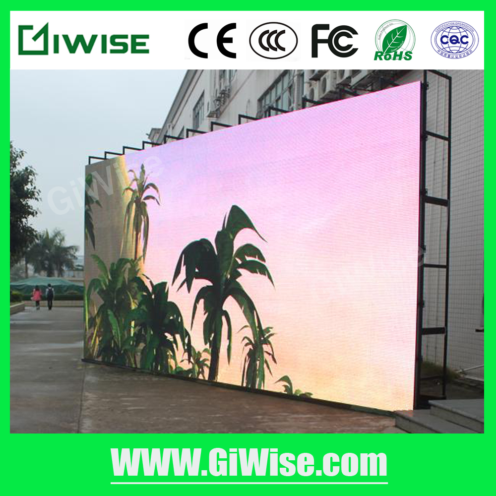 Wholesale price P5 outdoor RGB full color LED screen with SMD waterproof modules