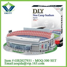 DIY educational toy 3D football stadium paper games 3D puzzle