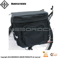 Bicycle Black Twin/Double Rear Pannier Bag