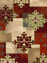 New style turkish patchwork rug for different use