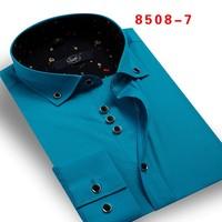 Men fashion plaid shirt with high quality