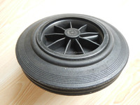 8x2 Dustbin Solid Rubber Wheel