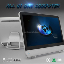 "23.6 ""Core CPU Laptop i7 Computers All- In- One 4GB/ 500GB Gaming Computer Desktop computador de mesa"