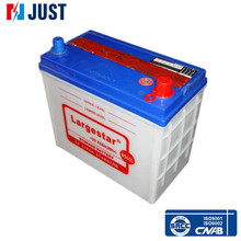 Good performance lead acid Dry car rechargeable battery NS60L