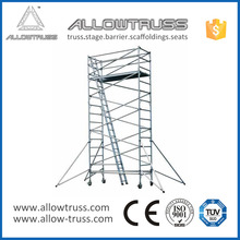 Moveable scaffolding layher jack used machine