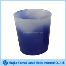 thermal or cold color changing plastic tumbler mini drinking mug for spirits