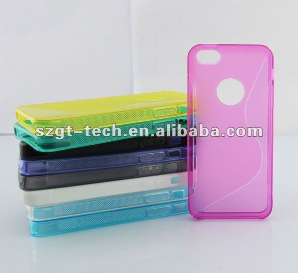 for iPhone5 TPU S pattern case,mobile back cover case