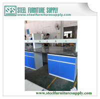laboratory wall bench, laminated wood benches