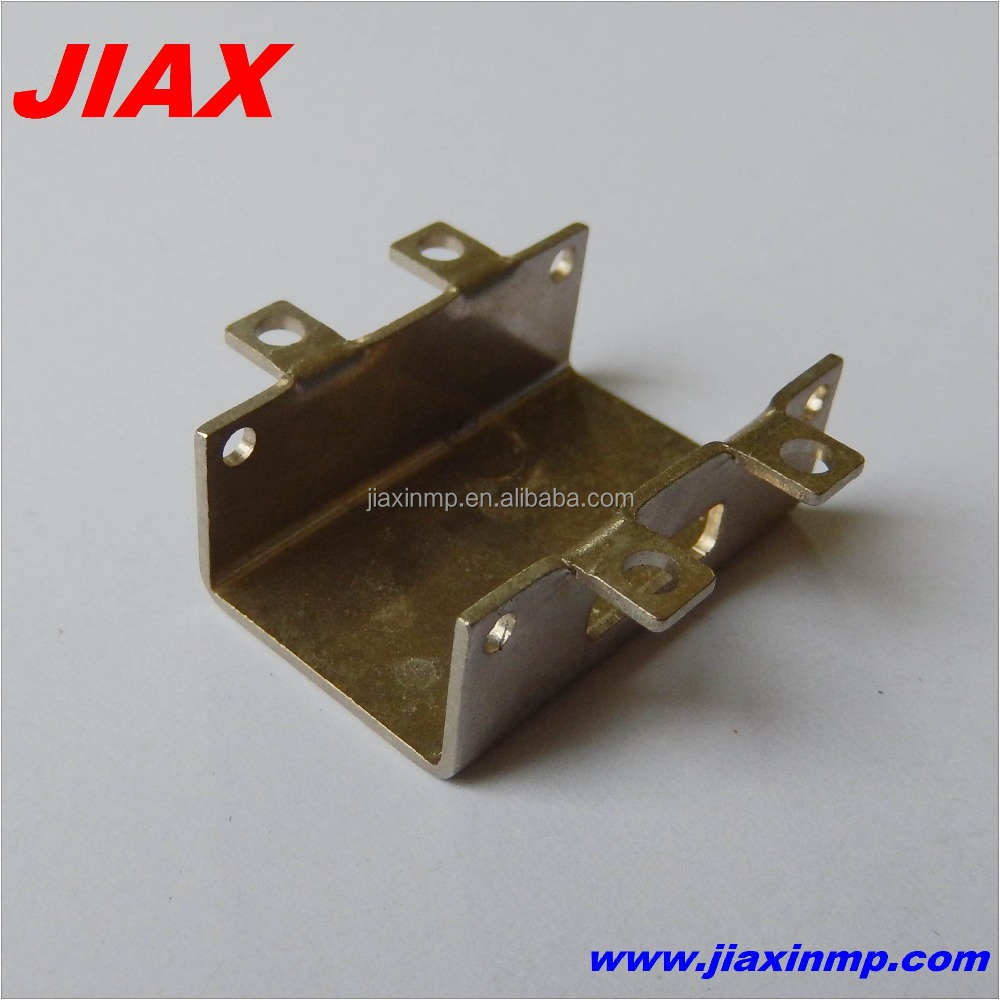 Custom small precision sheet metal stamping parts fabrication service
