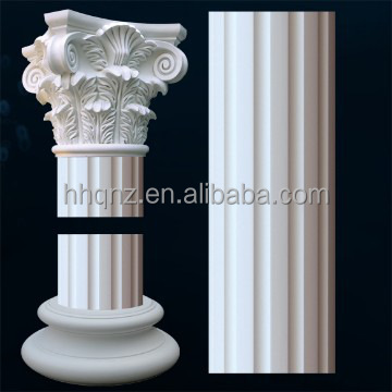 decorative polyurethane roman column