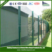 China factory supply welded 358 mesh security fencing