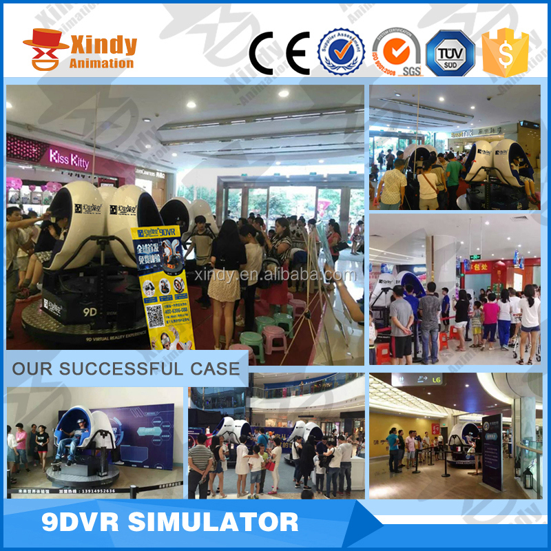 virtual reality 9d egg vr 9d cinema/motion chair gyro ride