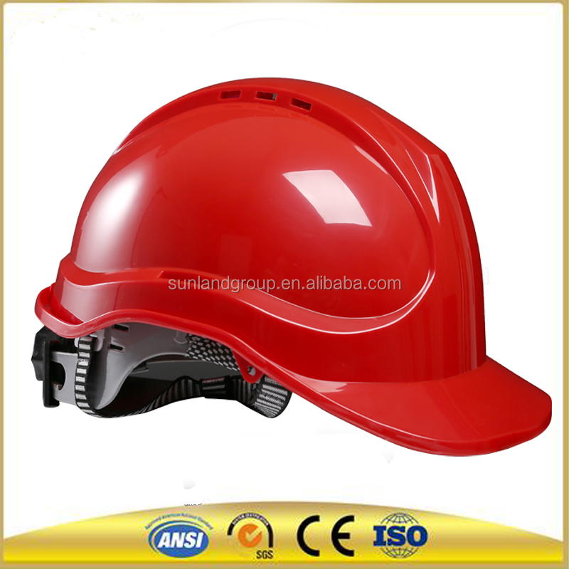 lightweight protective Safety helmet visor protector of ABS shell with CE Comfortable abs hard Hat