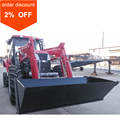 90 hp 4wd YTO Tractor for Sale Air Con Cabin Plus Front End Loader 4 in 1 Bucket