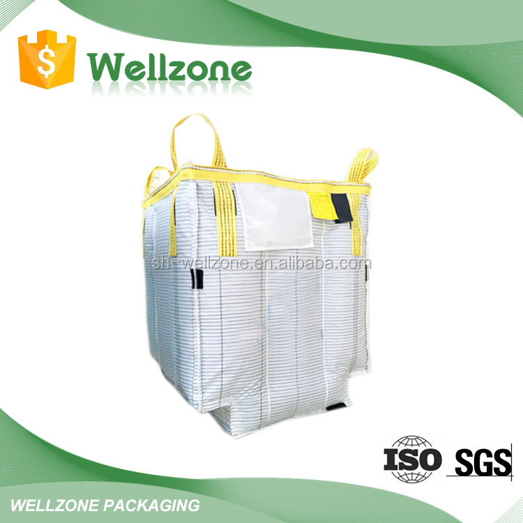 Big bag 500kg for cement in packaging