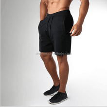2018 Men 's comfortable cotton spandex sport shorts training mens gym yoga shorts wholesale