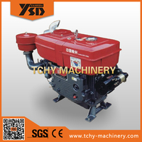 YASHIDA L35 35HP Water Cooled Diesel Engine Single Cylinder Direct Injection Strong Power Replace Two and Three Cylinder Engine