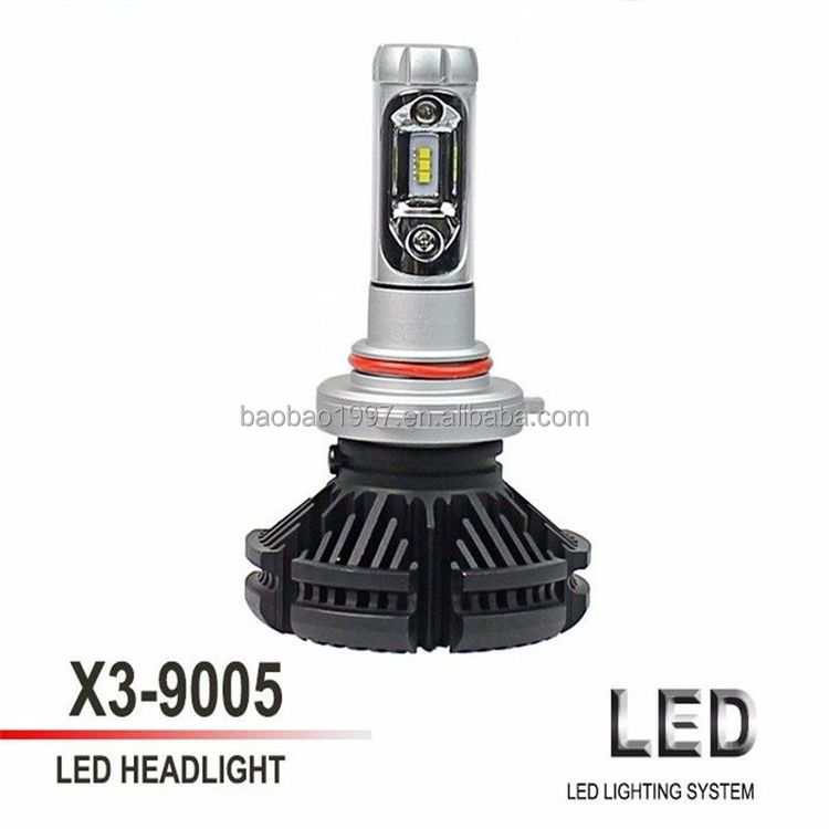 New wholesale top quality car led headlight car h4 car light led