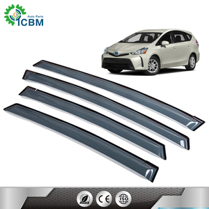 Wholesale skillful manufacture exterior car accessories wind deflector