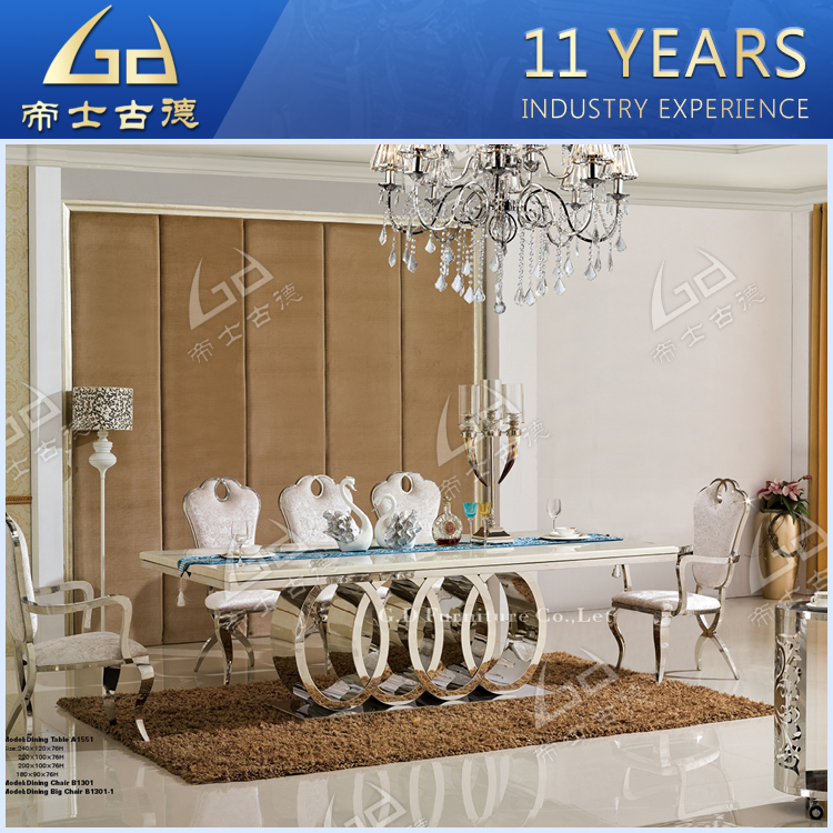Marble Top Circle Dining Room Tables With Modern Design Furniture