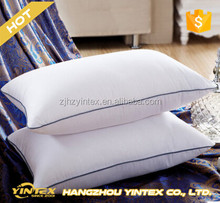 Hypoallergenic Polyester Pillow Insert King Size Silicone Microfiber Gel Fiber Pillow