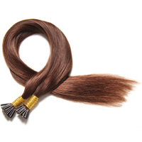 2016 Latest Fashion Virgin Hair I Tip 100% Virgin Indian Remy I Tip Brazilian Hair Extension