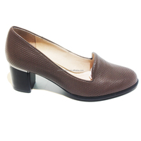 brazilian leather pure leather factory direct mature women shoes buy in bulk