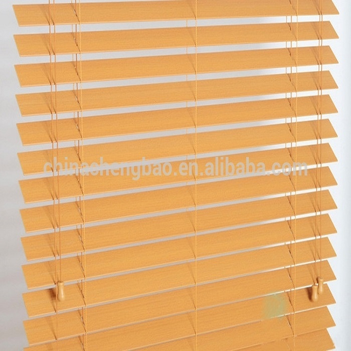 Waterproof faux wood Bamboo Mat Blinds