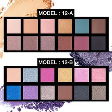 OEM 12 color European and American hot eye shadow, The bomber's palette 12 color eye shadow make-up dish, pearl
