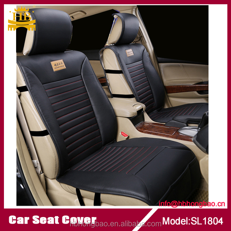Promotional car acessories good leather seat cover for car