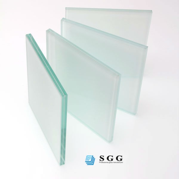 Hot sale opaque laminated tempered glass , safety tempered glass