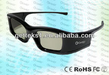 fashionable Stylish active shutter 3D eyewear/glasses for theater and cinema