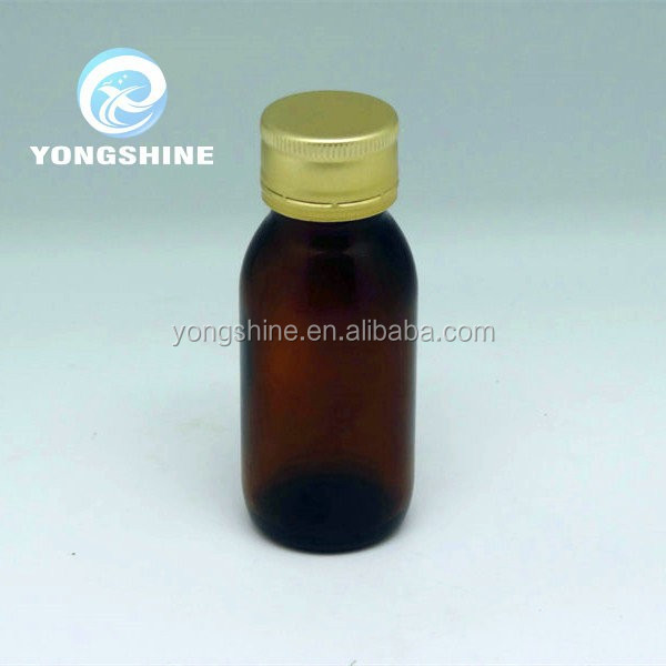 60ml amber glass bottle for syrup , syrup bottle ,cough syrup bottle wholesale