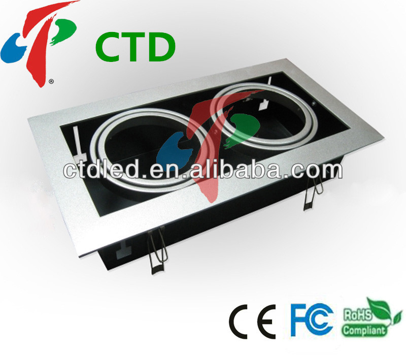 CTD 20W*2PCS AR111 Twin Frame with LED Light Frame